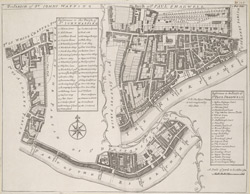 The PARISH of ST JOHNS WAPPING. The Parish of ST PAUL SHADWELL